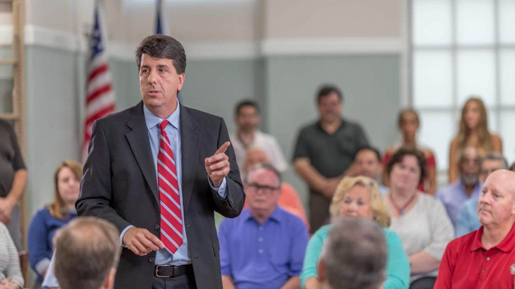 Joe Ciresi fights for property tax reform